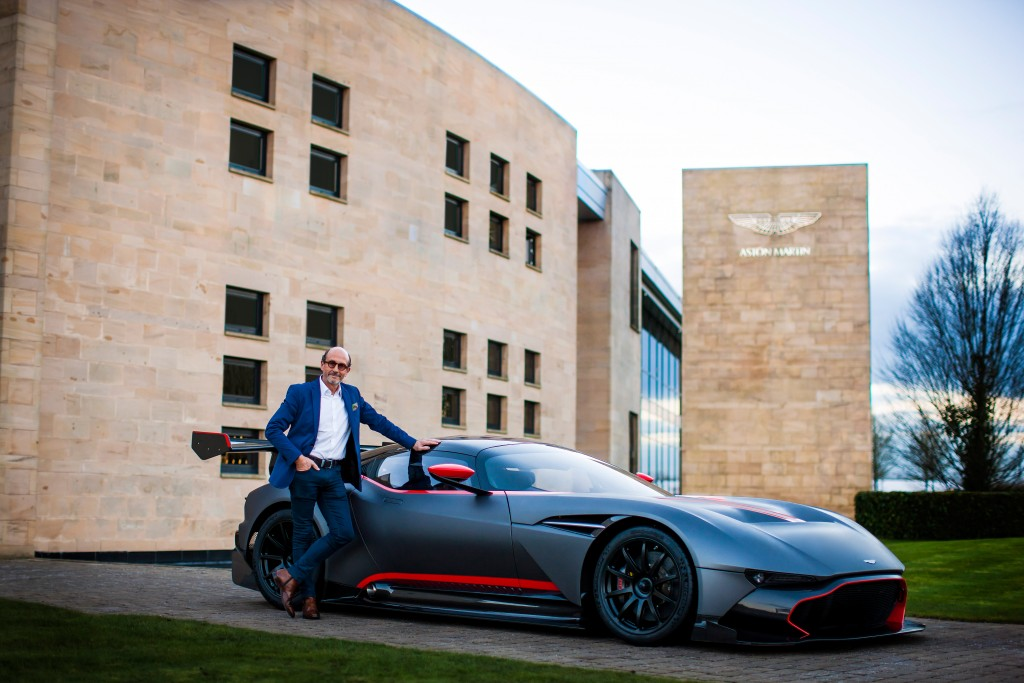 Richard Mille Visit to Aston Martin.  Gaydon, England.  11th January 2016. Photo: Drew Gibson.