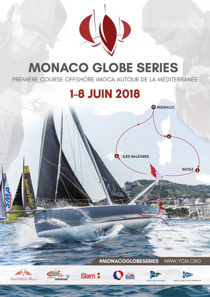 Monaco Globe Series - poster